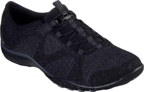 Skechers Breathe-Easy Opportuknity Ladies Sports Black